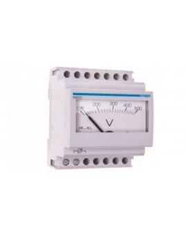 Woltomierz analogowy 0-500V klasa 1, 5 4 moduły SM500