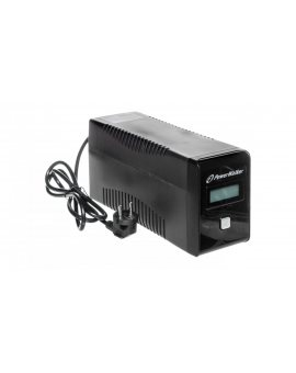 UPS POWER WALKER LINE-INTERACTIVE 850VA 2x 230V PL OUT, RJ11 IN/OUT, USB, LCD VI 850 LCD