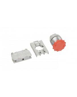 Przycisk sterowniczy 22mm czerwony bez samopowrotu 1R SP22-B-01