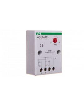 Automat schodowy z przeciwblokadą 16A 0, 5-10min 24V AC ASO-203