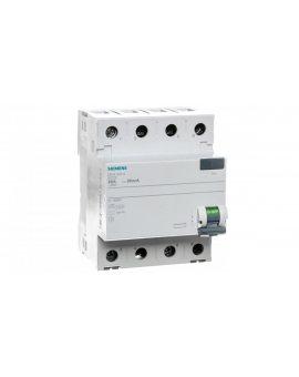 Wyłącznik różnicowoprądowy 4P 80A 0, 03A typ AC 5SV4347-0