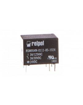 Przekaźnik subminiaturowy-sygnałowy 1P 3A 24V DC PCB RSM954N-0111-85-1024 2614628