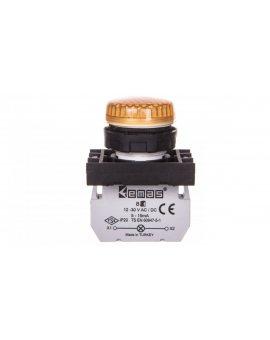 Lampka sygnalizacyjna 12-30V AC/DC żółta T0-B080XS