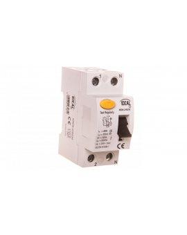 Wyłącznik różnicowoprądowy 2P 40A 0, 03A typ AC KRD6-2/40/30 23181