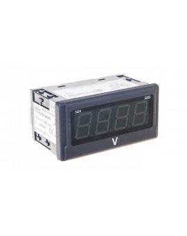Woltomierz cyfrowy 4 cyfr wejście AC 0-400V AC zasilanie 230V AC jednostka V N24 Z310400P0