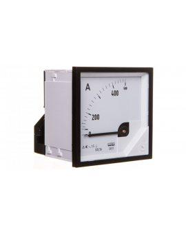 Amperomierz analogowy tablicowy 500/5A 72x72mm k=90° EA17N E42200000000