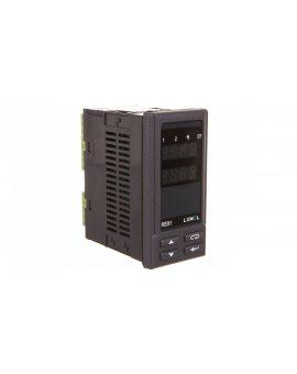 Regulator temperatury PT100 -50-100°C wyj. gł. przekaźnikowe wyj. alarmowe 2 przekaźniki zasilanie 230VAC 50/60Hz RE81 01100P0
