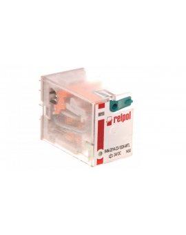 Przekaźnik przemysłowy 4P 24V DC AgNi R4N-2014-23-1024-WTL