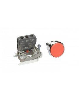 Przycisk sterowniczy 22mm czerwony z samopowrotem 1R XB4BA42
