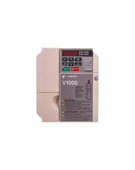 Falowniki wektorowy trójfazowe 380-480V AC 1, 5 kW 3x400V 4, 1A CIMR-VC4A0004BAA