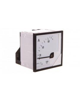 Amperomierz analogowy 72x72 N IP50 C41 75A 75/5 pozycja pracy C3 K=90 st. bez atestu KJ EA17N C41400000000