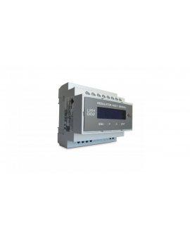 Regulator mocy biernej, pomiar jednoprądowy, 6 wyjść, montaż na szynę LRM002/11-6