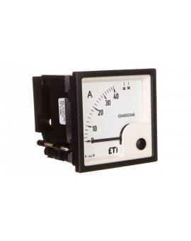 Amperomierz analogowy tablicowy 40A klasa 1, 5 72x72mm EQ72 004805346