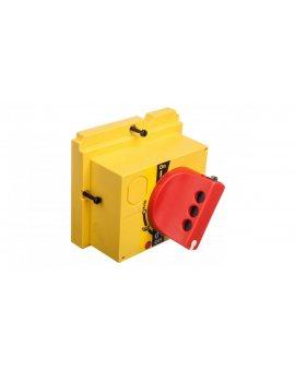 Napęd bezpośredni czerwono-żółty z blokadą CVS100/160/250 LV429339