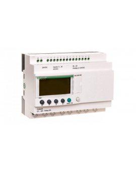 Przekaźnik programowalny 24V DC 6we 8wy Zelio Logic SR2B201BD