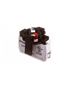 Przycisk sterowniczy 22mm czerwony 1R z samopowrotem 022961