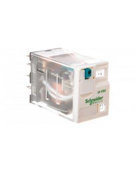 Przekaźnik miniaturowy 4P 24V DC AgNi RXM4AB2BD