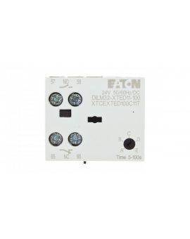 Elektroniczny moduł czasowy opoźnione odpodanie 0, 05-100s 1Z 1R 24V AC/DC DILM32-XTED11-100(RA24) 104946