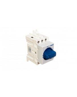 Rozłącznik izolacyjny 3P 40A z pokrętłem niebieskim KS 3.40