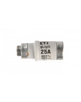 Wkładka bezpiecznikowa D02 25A gG 400V AC/250V DC E18 002212002