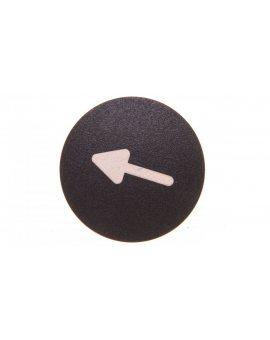 Wkładka przycisku grzybkowego 22mm czarna M22-XDP-S-X7 218261