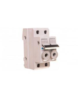 Rozłącznik bezpiecznikowy cylindryczny 2P 20A 10x38mm L96200