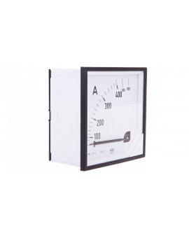Amperomierz analogowy tablicowy 400/800A do przekładnika 400/5A 96x96mm IP50 C3 K=90 st. EA19N F42100000000