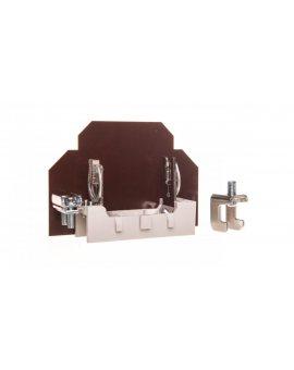 Podstawa bezpiecznikowa 1P 125A /mocowana na szynie/ PPR 00 004121003