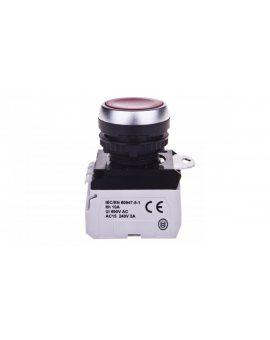 Przycisk sterowniczy 22mm czerwony 1Z 1R z samopowrotem z podświetleniem 023758