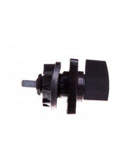 Napęd ręczny obrotowy do przełącznika krzywkowego 45x45mm czarny KDC1H