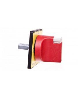 Napęd ręczny obrotowy do przełącznika krzywkowego 60x60 czerwony/żółty KDF2PZ