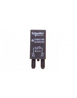 Układ ochronny warystor 24-60V AC/DC do gniazda miniaturowego RXM021BN
