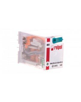 Przekaźnik przemysłowy 4P 24V DC IP40 AgNi R4N-2014-23-1024-WTLD 860412