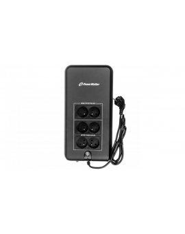 UPS POWERWALKER OFFLINE 800VA 4xPL + 2xPL OUT VFD 800 APFC/FR