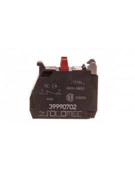 Styk pomocniczy 0Z 1R 0P montaż czołowy HZF302