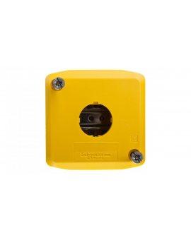 Obudowa kasety 1-otworowa 22mm żółta IP65 XALK01