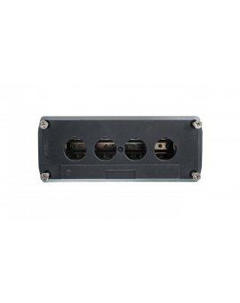 Obudowa kasety 4-otworowa 22mm szara IP65 XALD04