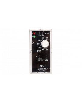 Przekaźnik kontroli napięcia 1-fazowy 2P 5A 220-460V AC REX-11 2605764