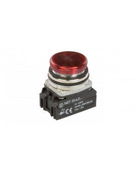 Lampka sygnalizacyjna 30mm czerwona 24-230V AC/DC W0-LDU1-NEF30LD C