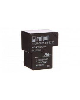 Przekaźnik przemysłowy 1Z 40A 220V AC PCB R40N-3021-85-5220 2614762
