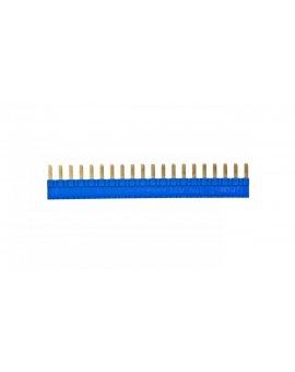 Złącze grzebieniowe 20-zębowe 36A 250V niebieskie do gniazd PI6 PIR6W PIR6WB PIR6WT PIR6WBT - ZG20-3 2608956