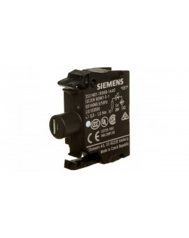 Oprawka z LED biała 24V AC/DC montaż czołowy Sirius ACT 3SU1401-1BB60-1AA0
