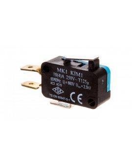 Wyłącznik krańcowy miniaturowy 1CO dźwignia krótka T0-MK1KIM1