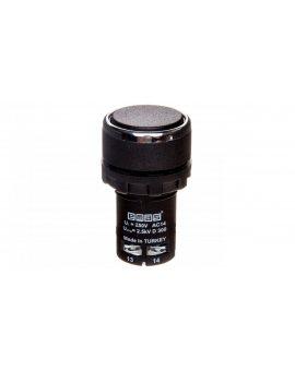 Przycisk sterowniczy monoblok czarny 1Z 1R T0-MB102DH