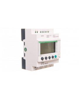 Moduł programowalny ZELIO LE 6we cyfrowych 4wy przekaźnikowe 24V DC RTC/LCD SR3B101BD