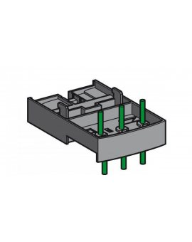 Blok łączeniowy, TeSys GV2 montowany na LAD-311 ze stycznikiem LC1-D09...D38 GV2AF4
