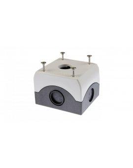 Obudowa kasety 1-otworowa 22mm szara IP67 M22-I1 216535