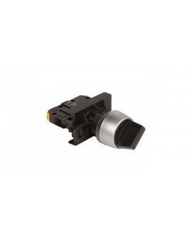 Przełącznik 2 położeniowy pokrętło 22mm czarny 1Z bez samopowrotu ST22-P.CZ-10\.