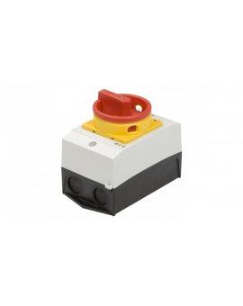 Łącznik krzywkowy 0-1 3P 20A w obudowie IP65 T0-2-1/I1/SVB 207147