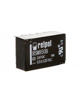 Przekaźnik subminiaturowy-sygnałowy 2P 0, 5A 24V DC PCB RSM850B-6112-85-1024 2611715
